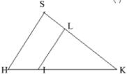Bài tập: Định lí đảo và hệ quả của định lí Ta-lét   Lý thuyết và Bài tập Toán 8 có đáp án